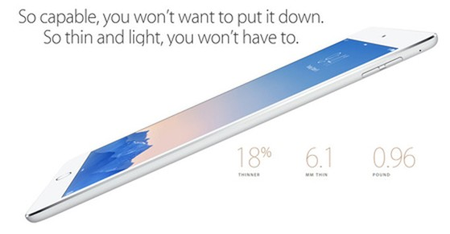 iPad Air 2, Apple