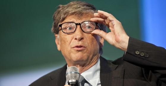 Bill Gates, người giàu trên thế giới