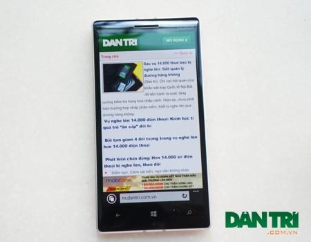 Đập hộp Lumia 930 chính hãng phiên bản màu cam