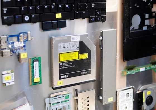 Hãy tái chế rác thải điện tử đúng cách