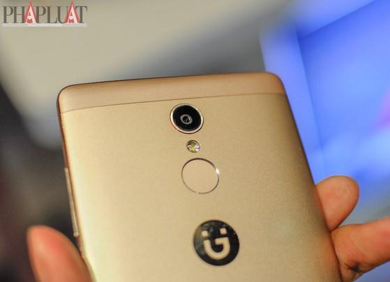 Gionee S6s có camera chính 13MP, hỗ trợ cảm biến vân tay ở mặt sau