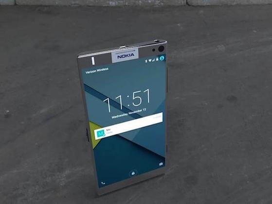Smartphone được đồn đoán sẽ mang thương hiệu Nokia