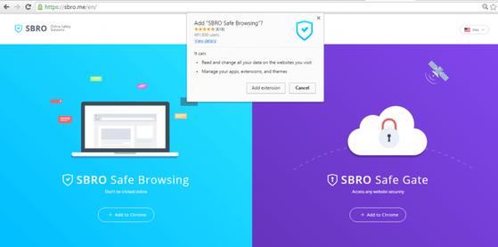 Cài đặt SBRO Safe Browsing chỉ với vài thao tác đơn giản