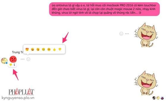 Cách thêm nút Dislike cho Facebook Messenger