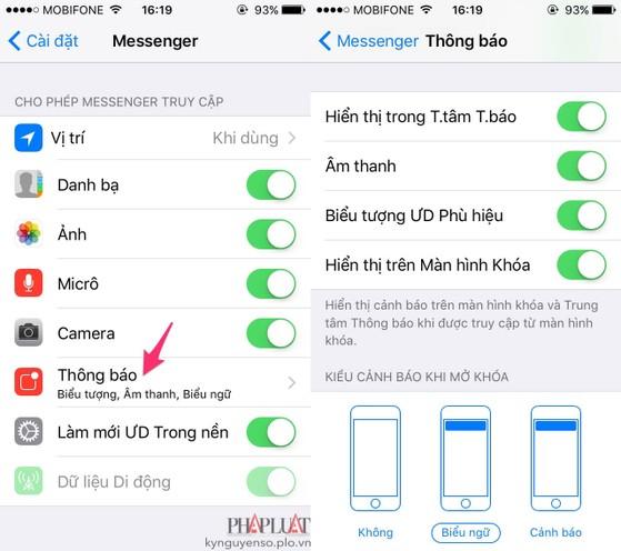 3 cách tắt bớt các tính năng phiền phức trên Messenger
