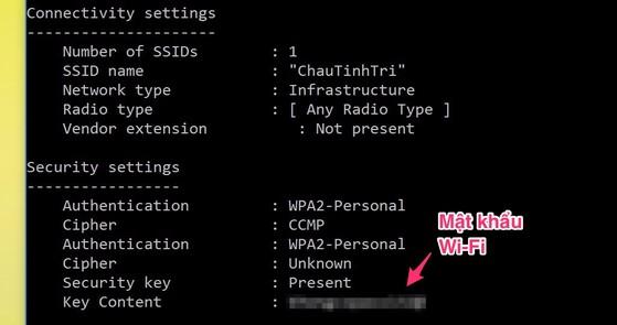 4 bước tìm lại mật khẩu Wi-Fi khi lỡ quên