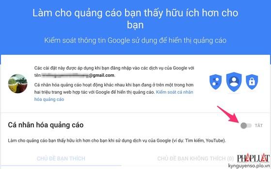 Cách ngăn Google hiển thị quảng cáo khi lướt web