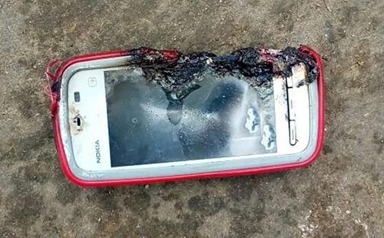 Điện thoại Nokia bất ngờ phát nổ