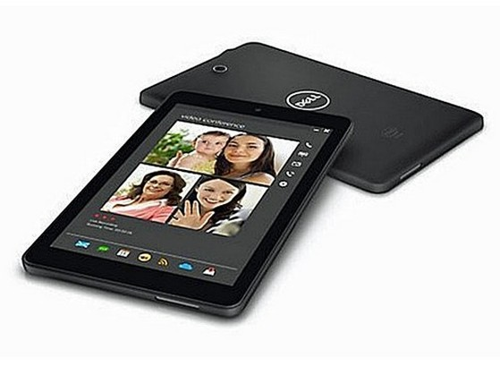 Mẫu tablet Dell Venu 8 sử dụng chip Atom cao cấp của Intel và nền tảng hệ điều hành Android. Ảnh: Cnet.