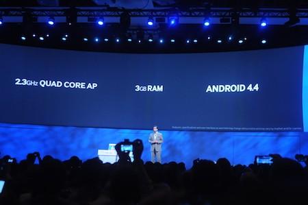Máy được trang bị cấu hình mạnh nhất từ trước đến nay trên các dòng máy tính bảng của Samsung.