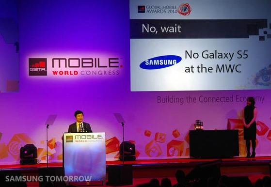 Thông tin mới nhất cho hay Galaxy S5 sẽ không được ra mắt tại MWC 2014.