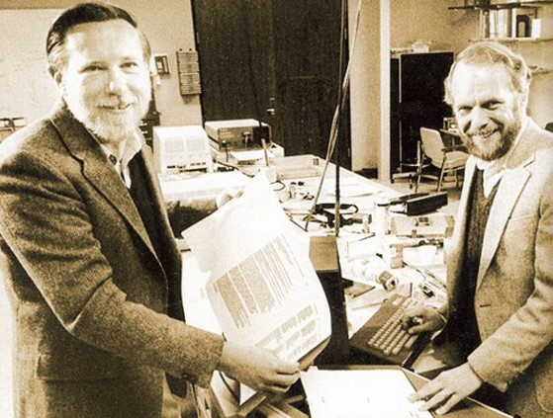 Charles Geschke and John Warnock