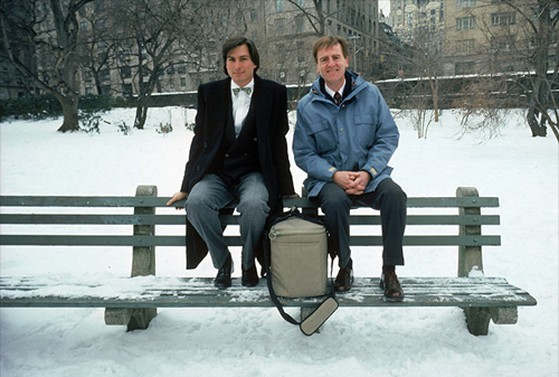 John Sculley in Central Park, 1984