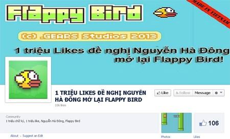 Facebook, Nguyễn Hà Đông, Flappy Bird, mẹo, Android, cài đặt Flappy Bird