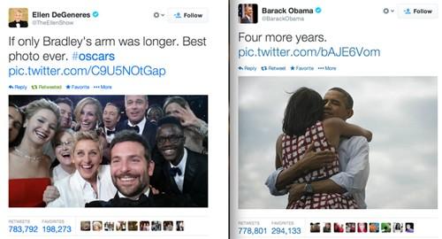 Ellen DeGeneres chỉ cần 30 phút để 'qua mặt' Obama.