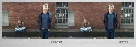 Hình ảnh minh họa chức năng chụp trước lấy nét sau trên HTC M8