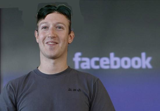 Ai còn nhận ra nổi Mark Zuckerberg, nhà sáng lập Facebook, với kiểu tóc này?