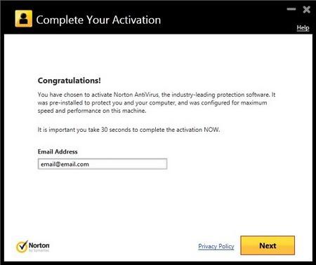 6 tháng miễn phí bảo vệ máy tính an toàn với Norton Antivirus 2014