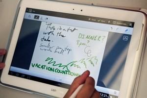 Máy tính bảng của Samsung. (Nguồn: hdwallpapersbot)