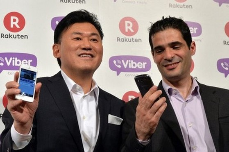 """Viber đã trở thành """"người nhà"""" của Rakuten với giá 900 triệu USD"""