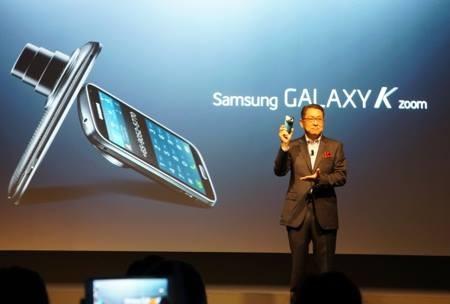 Galaxy K Zoom chính thức trình làng với camera 20,7 MPx