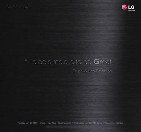 Thư mời sự kiện đặc biệt của LG vào ngày 27/5 tới đây