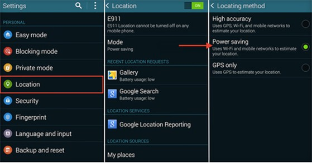 Samsung Galaxy S5, tiết kiệm pin