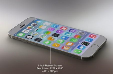Sản phẩm với màn hình 5-inch và độ phân giải siêu nét