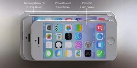 Có kích cỡ mỏng và nhỏ hơn Galaxy S5 và iPhone 5S