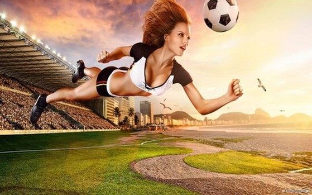 Bộ hình nền đầy màu sắc mang chủ đề World Cup 2014