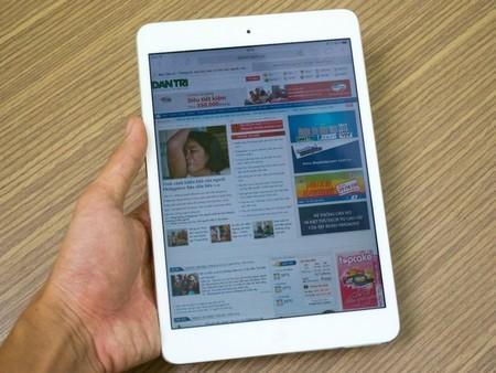 iPad mini Retina có thiết kế không khác biệt so với phiên bản đầu tiên