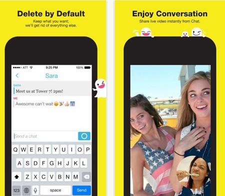 mạng xã hội, Snapchat, Vine, Secrets