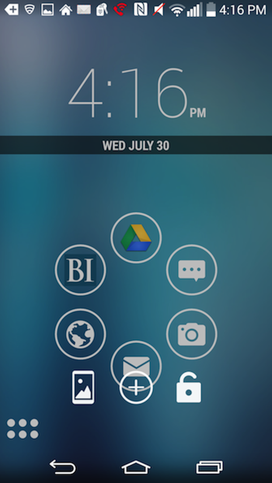 launcher Android, ứng dụng Android, ứng dụng hay, nova launcher