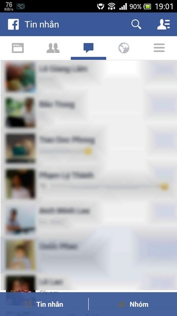 Bạn vẫn có thể nhận/gửi tin nhắn trực tiếp từ ứng dụng Facebook như trước đây