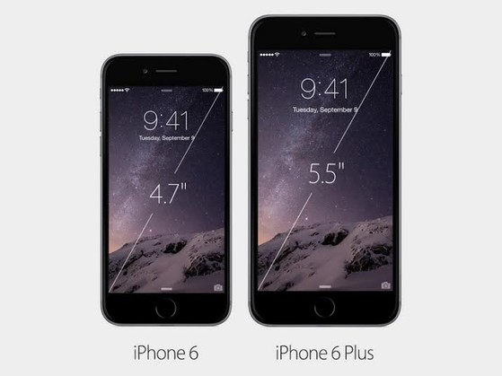 iPhone 6, iPhone 6 Plus