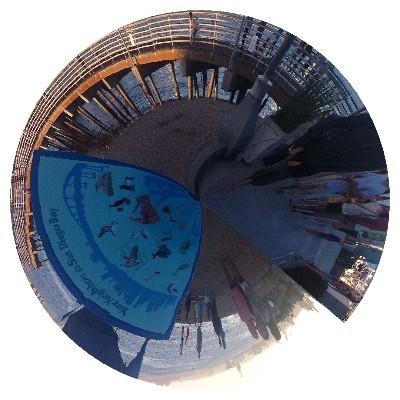 Một vài hình ảnh độc đáo được tạo ra bởi ứng dụng Planet Camera