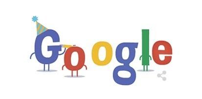Logo đặc biệt mừng sinh nhật lần thứ 16 của Google