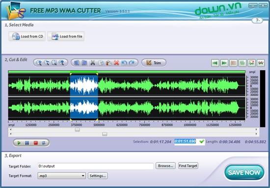 Free-MP3-WMA-Cutter