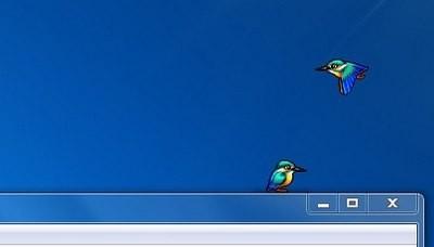 Bạn có thể gọi bao nhiêu chú chim tùy thích bằng cách kích nhiều lần vào file