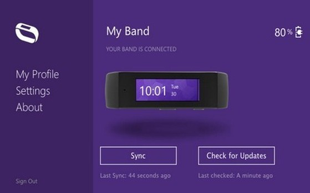 Hình ảnh vòng đeo tay thông minh của Microsoft xuất hiện trên kho ứng dụng của OS X