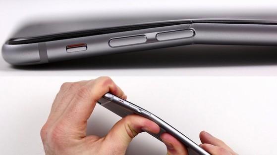 iPhone 6 Plus, bẻ cong, Apple