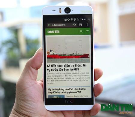 HTC Desire Eye với 2 camera 13 megapixel xuất hiện tại Việt Nam