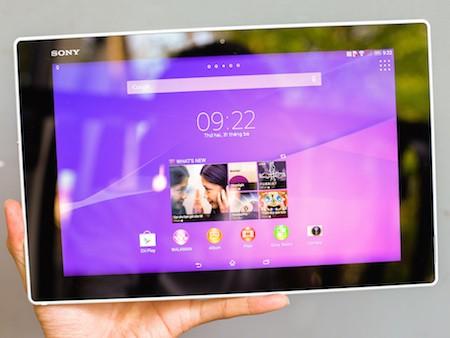 Cận cảnh máy tính bảng Xperia Z2 tablet vừa xuất hiện tại Việt Nam