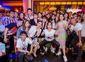 Việt Hương như gái đôi mươi đi giao lưu cùng fan hâm mộ
