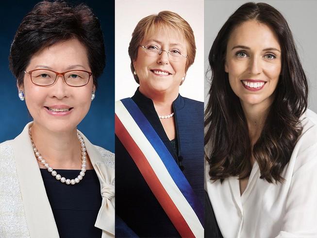 Chân dung 3 'bóng hồng quyền lực' tham dự APEC