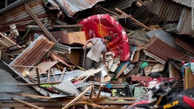 Động đất, sóng thần Indonesia: 1.200 tù nhân trốn thoát