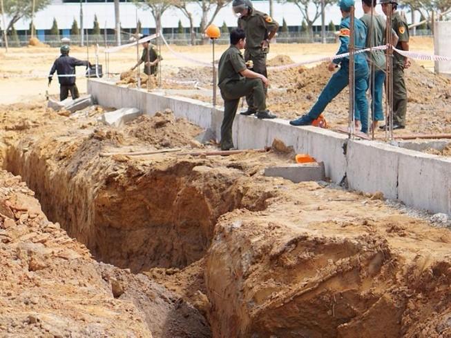 2 công nhân đang thi công bị vùi lấp, tử vong tại chỗ