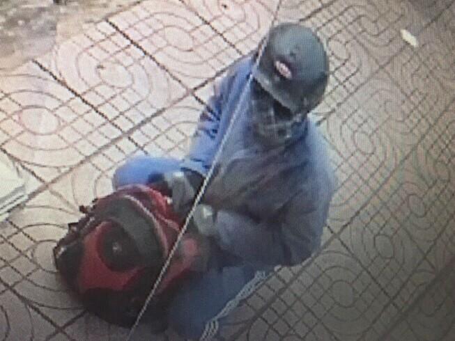 Hình ảnh ban đầu tên cướp Ngân hàng ở Đồng Nai