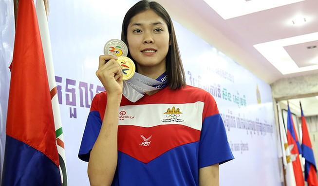 Thủ tướng Campuchia hỗ trợ cho nhà vô địch Asiad