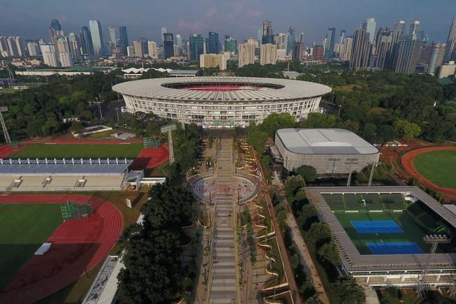 Cơ sở Asiad 18 đã xong, U-23 Việt Nam đá tại Jakarta